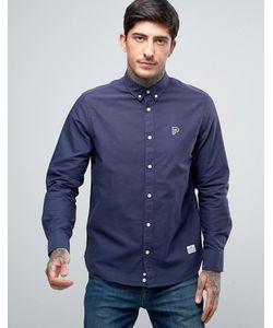 Penfield   Темно-Синяя Оксфордская Рубашка Классического Кроя На Пуговицах Porterville