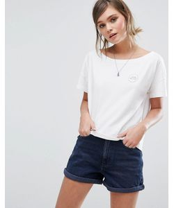 Jack Wills | Cropped Oversized T Shirt With Logo