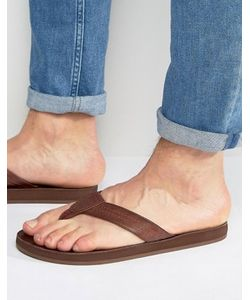 Abercrombie and Fitch | Abercrombie Fitch Leather Flip Flops