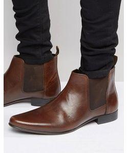 Asos | Кожаные Ботинки Челси С Петлей На Заднике