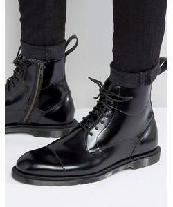 Dr. Martens | Ботинки На Молнии И Шнуровке С 7 Парами Люверсов Dr Martens