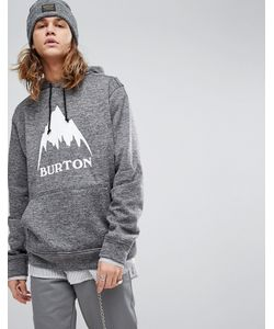 Burton Snowboards - Меланжевый Худи С Логотипом Oak f2cb84b9bee