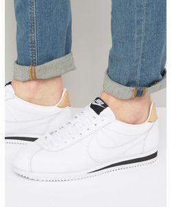 Nike | Кожаные Кроссовки Cortez Se 861535-101