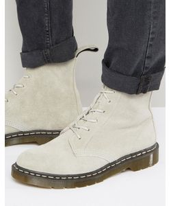 Dr. Martens | Замшевые Ботинки С 6 Парами Люверсов Made In England