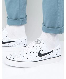 Nike SB | Белые Парусиновые Кроссовки Stefan Janoski 705190-100