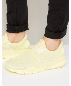 Nike | Желтые Дышащие Кроссовки 909551-700