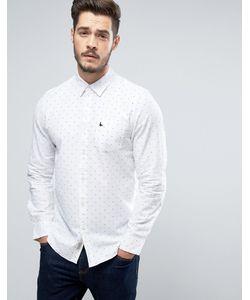 Jack Wills | Рубашка Классического Кроя Из Ткани Добби Twisleton