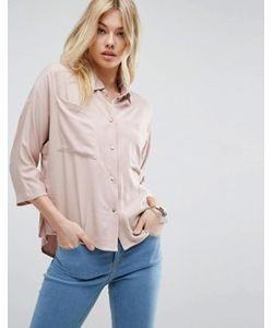 Asos | Свободная Рубашка С Карманами