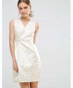 Uttam Boutique | Жаккардовое Платье