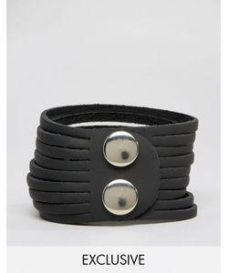 Reclaimed Vintage | Кожаный Браслет