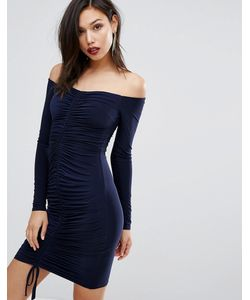 Club L | Платье Со Сборкой