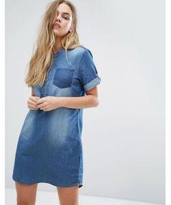 JDY | Джинсовое Платье На Пуговицах J.D.Y
