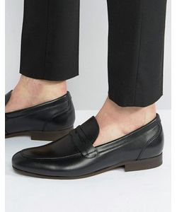 Hudson London | Hudson Reyes Leather Loafers