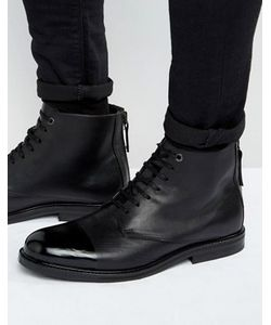 Kg Kurt Geiger | Кожаные Ботинки На Шнуровке Chalker