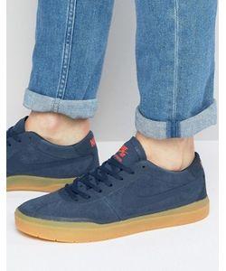 Nike SB | Темно-Синие Кроссовки Bruin Hyperfeel 831756-449