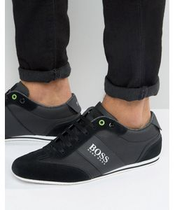 Boss Green | By Hugo Boss Lighter Logo Suede Trainers