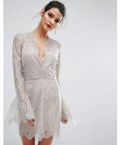 BEC&BRIDGE | Платье С Глубоким Вырезом Bec Bridge Mirror Palace