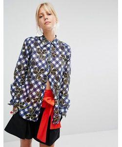 Sportmax Code | Рубашка В Клеточку Gioire