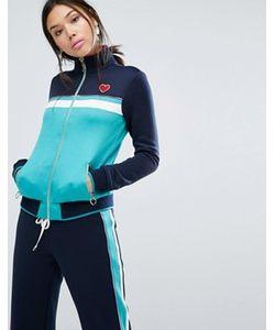 Juicy Couture | Спортивная Куртка В Стиле Колор Блок