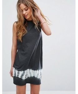 Rvca | Свободное Платье Без Рукавов Со Вставкой Тай-Дай
