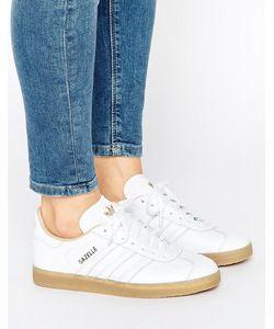 Adidas | Кожаные Кроссовки На Резиновой Подошве Originals Gazelle