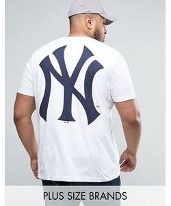 Majestic | Удлиненная Футболка Plus New York Yankees