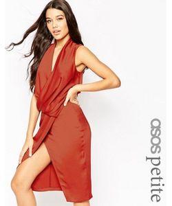 ASOS PETITE | Платье Миди Со Свободным Воротом
