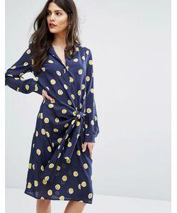 Max & Co. | Платье В Горошек С Завязкой Maxco Dispensa