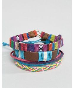 Asos | Набор Разноцветных Браслетов