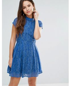 Louche | Кружевное Платье С Отделкой На Вороте Nichole