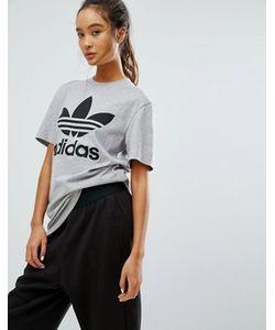 Adidas | Футболка Бойфренда С Логотипом Originals