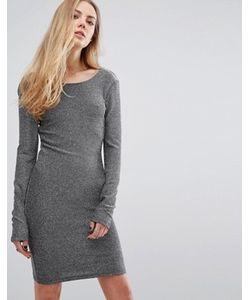 Blend She | Облегающее Платье Из Люрекса Fever