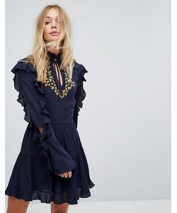Millie Mackintosh | Платье С Вышивкой И Оборками