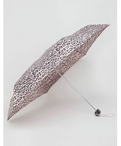 Totes | Миниатюрный Зонт С Леопардовым Принтом