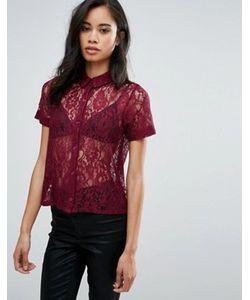 Hedonia | Кружевная Рубашка С Короткими Рукавами