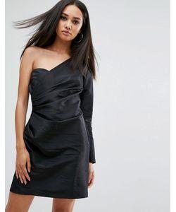 MISSGUIDED | Платье Мини На Одно Плечо В Стиле 80-Х