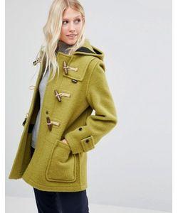 GLOVERALL | Зеленое Пальто Миди Monty