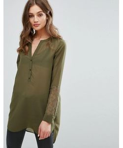 Vero Moda | Рубашка С Кружевами На Рукавах