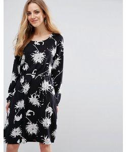 b.young | Цельнокройное Платье С Завязками На Талии Hessio