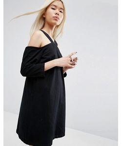 ASOS WHITE   Джинсовое Платье