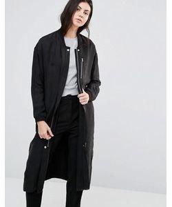 Minimum | Длинное Прямое Пальто Seija