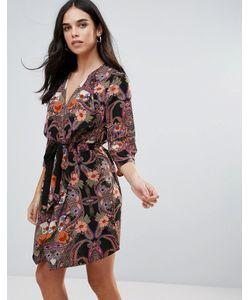 Vero Moda | Платье С Запахом И Принтом