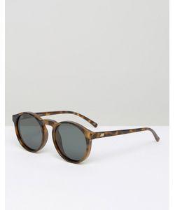 Le Specs | Круглые Солнцезащитные Очки В Черепаховой Оправе С Поляризованными Линзами