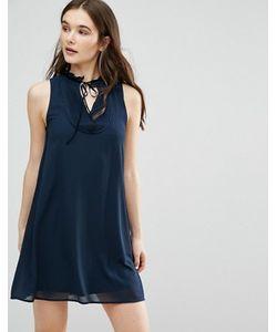 Qed London | Платье Без Рукавов С Завязкой У Горловины