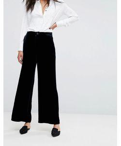 Mih Jeans | Брюки Из Бархата С Широкими Штанинами