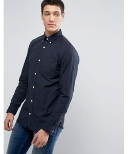 Jack & Jones | Узкая Оксфордская Рубашка Премиум-Класса