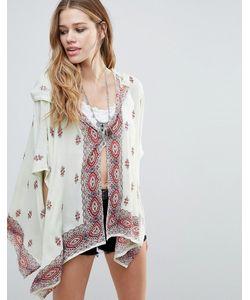 Raga | Endless Love Patterned Hooded Kimono