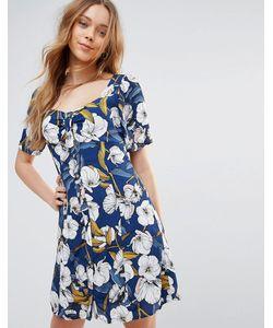 Minkpink | Чайное Платье С Цветочным Принтом Pacifico