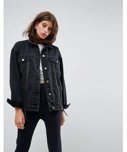 Asos | Выбеленная Джинсовая Куртка С Молнией