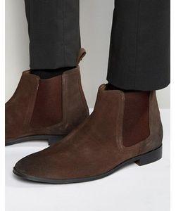 Dead Vintage | Коричневые Замшевые Ботинки Челси